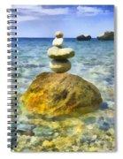 Life In Balance Spiral Notebook