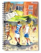 Life In Cartagena 01 Spiral Notebook