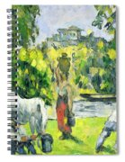 Life In The Fields Spiral Notebook
