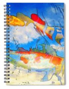 Life Is But A Dream - Koi Fish Art Spiral Notebook