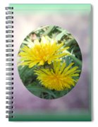 Life Is Made Up Of Dandelions Spiral Notebook