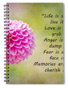 Life Is Short Spiral Notebook