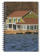 Life On Indian Lake Ohio Spiral Notebook