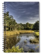 Life On The Marsh Spiral Notebook