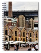 Life Under The Bridge Spiral Notebook