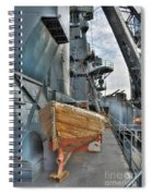 Lifeboat Spiral Notebook