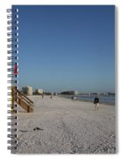 Lifeguard On Siesta Key Spiral Notebook