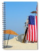 Lifeguard 9-11 Tribute Spiral Notebook