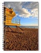 Lifeguard Off Duty Maui Hawaii Spiral Notebook
