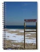 Lifeguard Off Duty Spiral Notebook