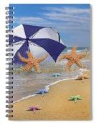 Life's A Beach Spiral Notebook