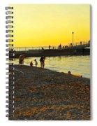 Lifes A Beach Spiral Notebook