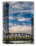 Lift Bridge 3d21789 Spiral Notebook