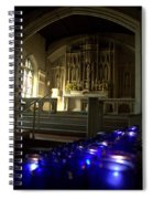 Light A Candle Spiral Notebook