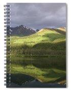 Light Along The Denali Highway Spiral Notebook