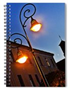 Light And Moon In B.bystrica Spiral Notebook
