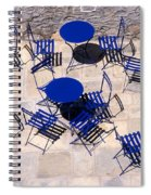 Light And Shadow In Hydra Island Spiral Notebook