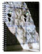 Beautiful Light Spiral Notebook