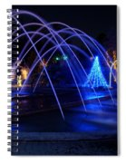 Light And Water In Motion Spiral Notebook
