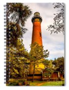 Light At Currituck Spiral Notebook