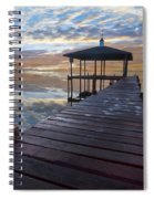 Light At The Lake Spiral Notebook