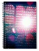 Light Beams Spiral Notebook