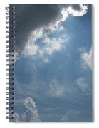Light Beyond By Diane Schiabor Spiral Notebook