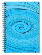 Light Blue Spiral Notebook
