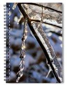 Light Chimes 2 Spiral Notebook
