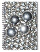 Light Chrome Spiral Notebook
