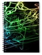 Light Explosion 12 Spiral Notebook