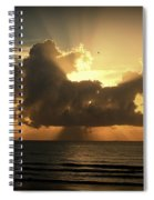 Light Explosion Spiral Notebook