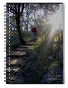 Light For The Path Spiral Notebook