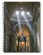 Light From Above Spiral Notebook