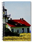 Light House At Midday Spiral Notebook