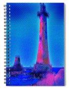 Light House At Sunrise 2 Spiral Notebook