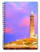 Light House Onthatcher Island Spiral Notebook
