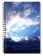 Light II Spiral Notebook