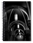 Light In The Basilica Spiral Notebook