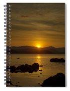 Light In The Darkness Spiral Notebook