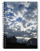Light In The Sky Spiral Notebook