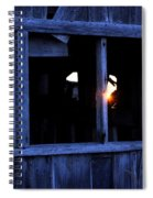 Light In The Window Spiral Notebook