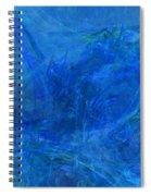 Light It Up Blue Spiral Notebook