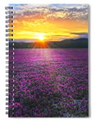 Light Just Right Spiral Notebook