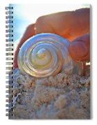 Light Of Creation Spiral Notebook