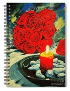 Light Of Love Spiral Notebook