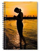 Light Of My Life Spiral Notebook