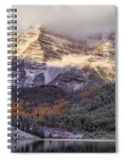 Light On Maroon Bells Spiral Notebook