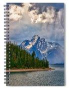 Light On Moran Spiral Notebook