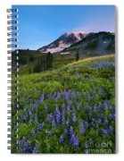 Light On The Mountain Spiral Notebook